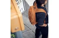 Eastpak Floid Suede Rust - Soldes