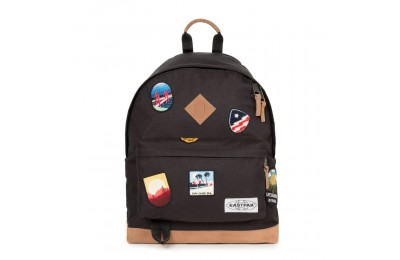 Eastpak Wyoming Into Patch Black - Soldes