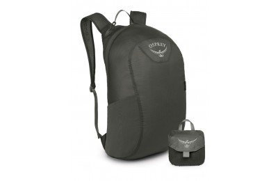 Osprey Sac à dos ultra léger - Ultralight Stuff Pack Shadow Grey - Soldes