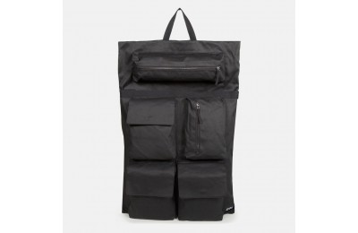 Eastpak Raf Simons Poster Backpack Cotton Punk White