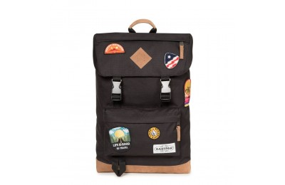 Eastpak Rowlo Into Patch Black - Soldes