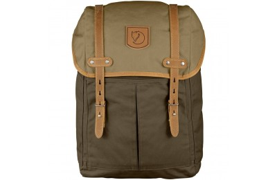 FJALLRAVEN No.21 - Sac à dos - Medium marron/olive Marron - Soldes
