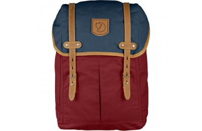 FJALLRAVEN No. 21 - Sac à dos - Medium rouge/bleu Rouge