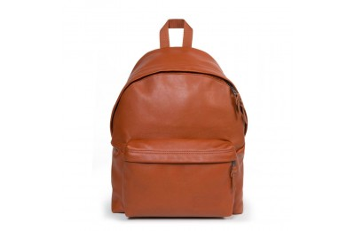 Eastpak Padded Pak'r® Cognac Leather - Soldes