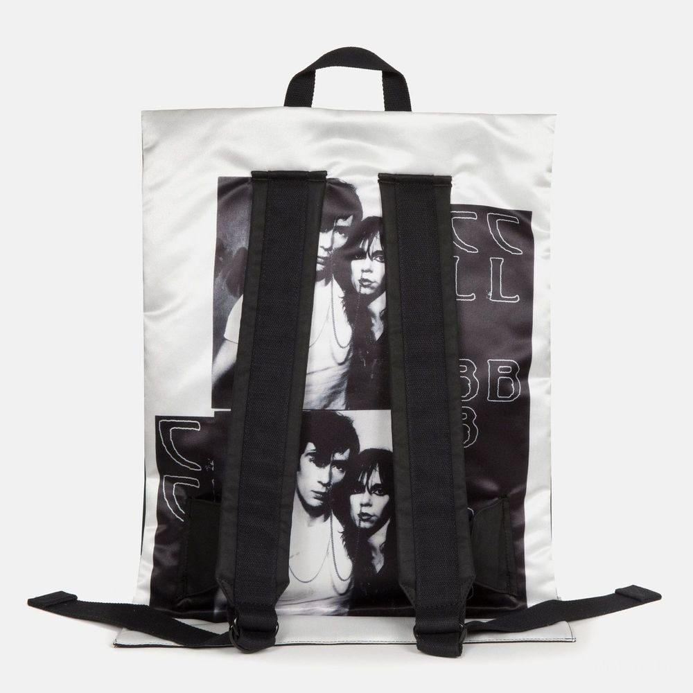 Eastpak Raf Simons Poster Padded Cotton Couple White - Soldes