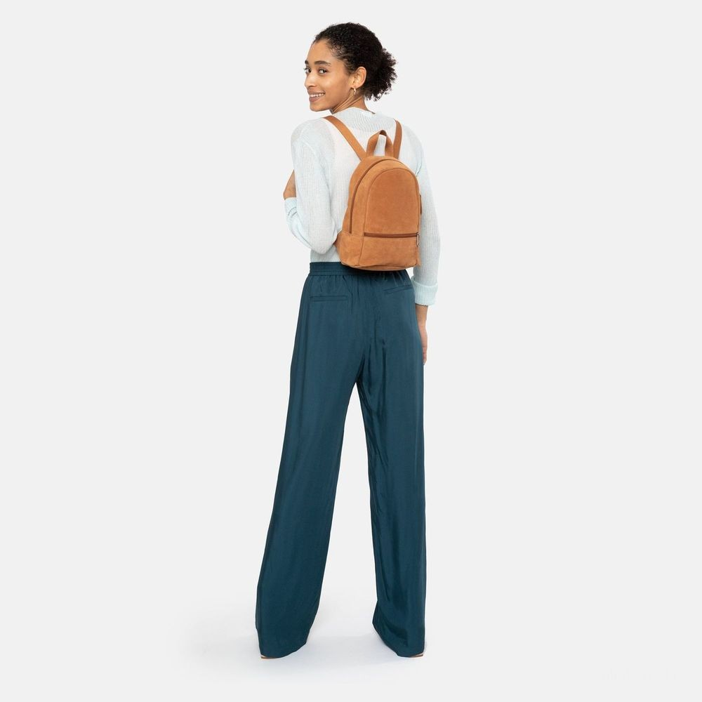 Eastpak Lucia S Suede Rust - Soldes