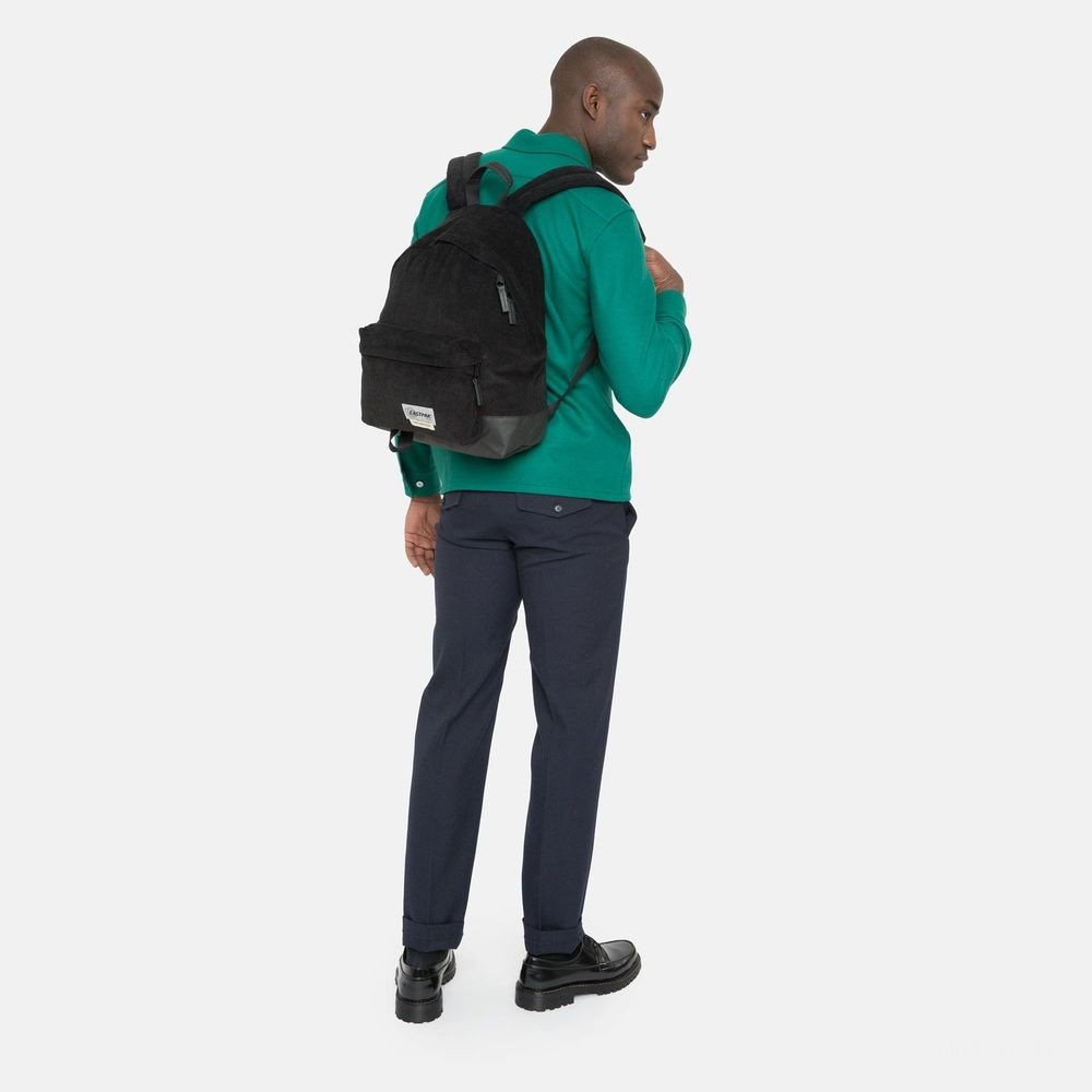 [CYBER MONDAY] Eastpak Padded Pak'r® Cordsduroy Black