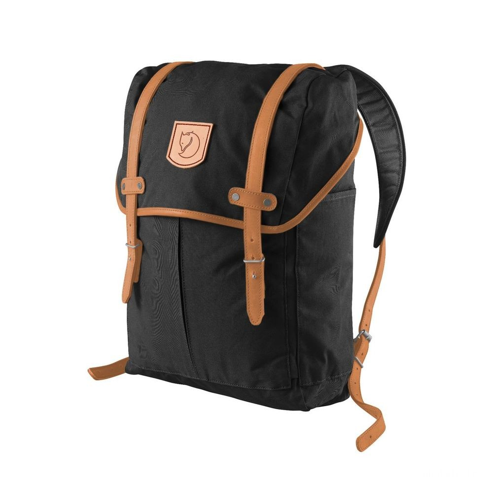 FJALLRAVEN No. 21 - Sac à dos - Medium noir Noir