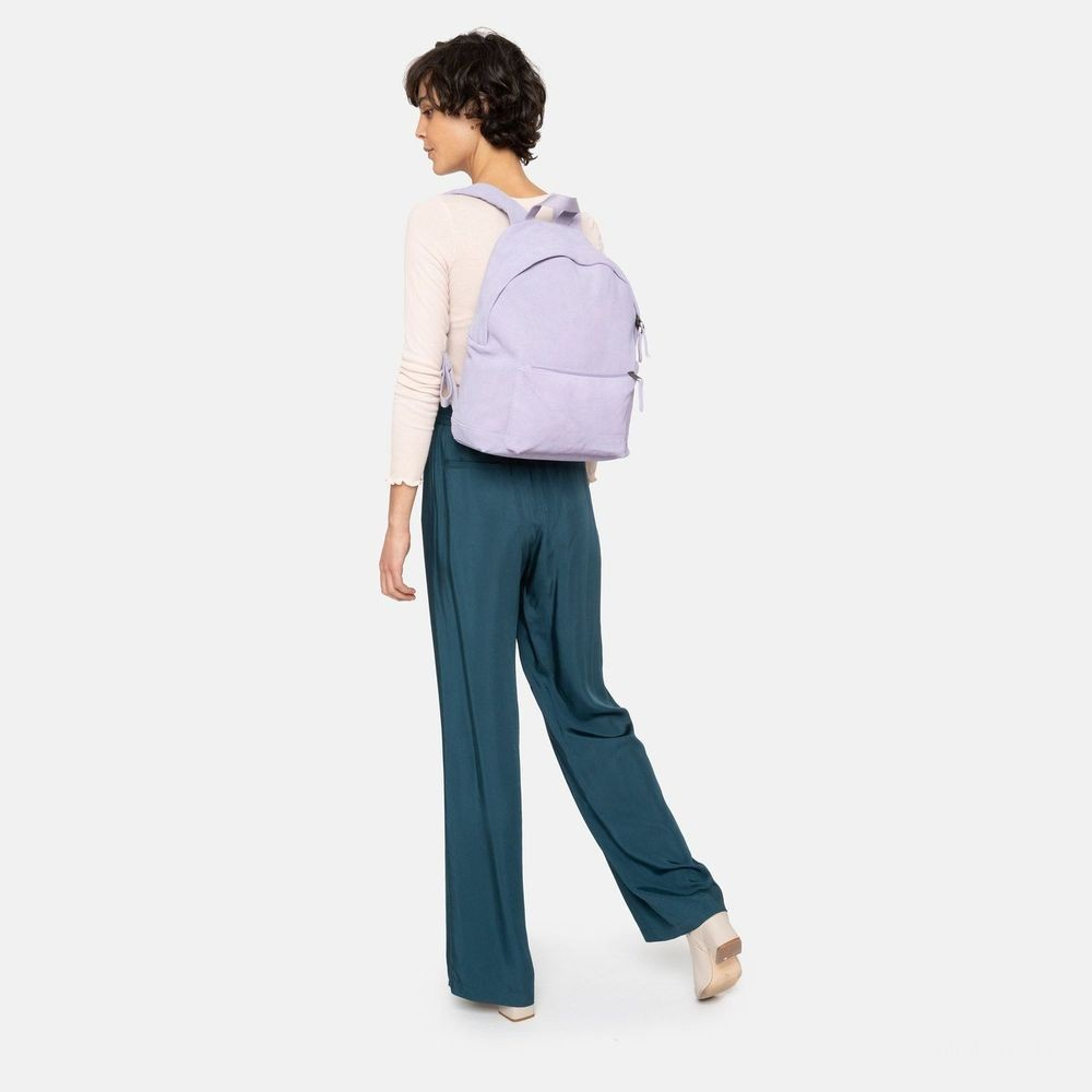 Eastpak Padded Sleek'r Suede Lilac - Soldes