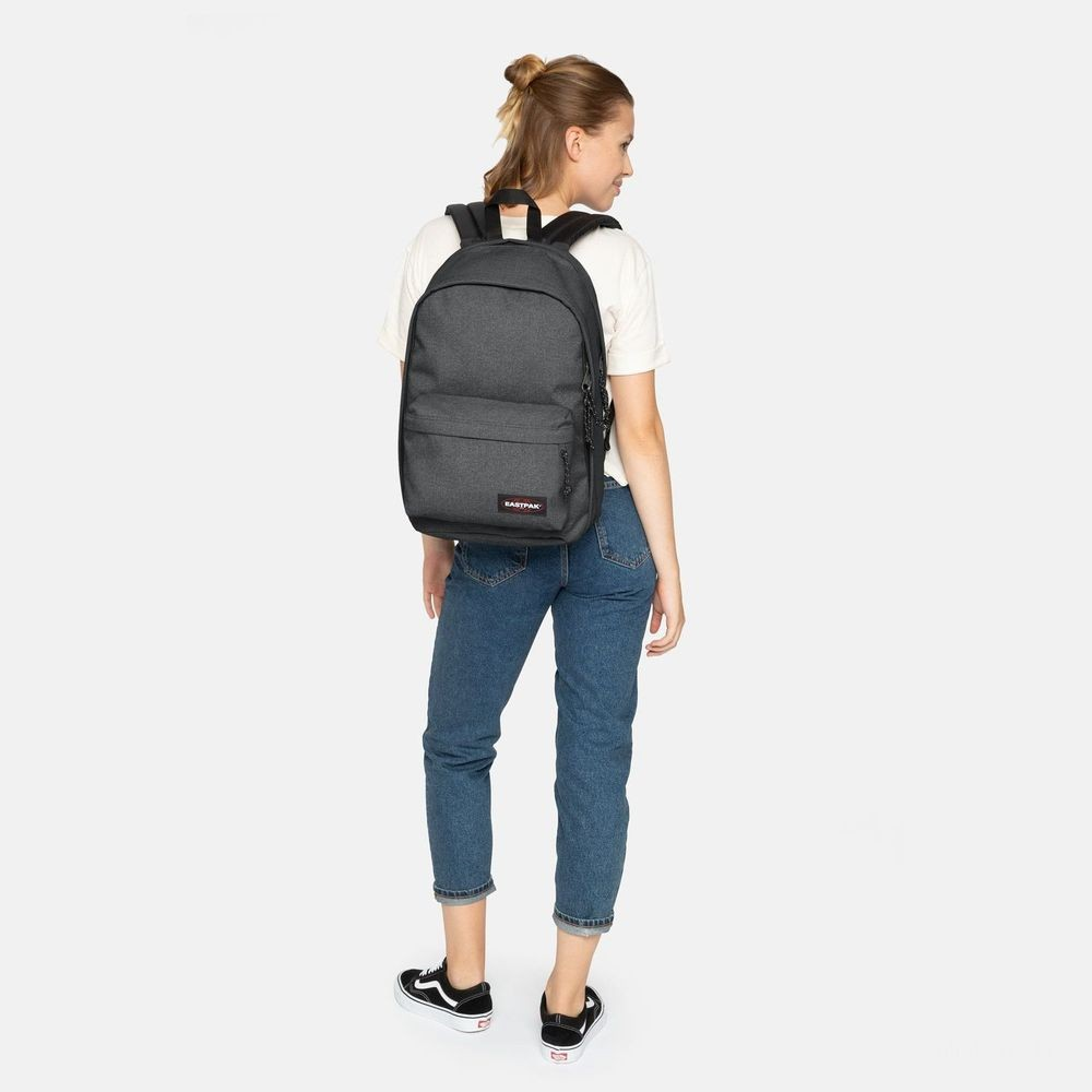 Eastpak Back To Work Black Denim - Soldes