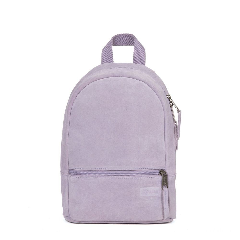 Eastpak Lucia S Suede Lilac - Soldes