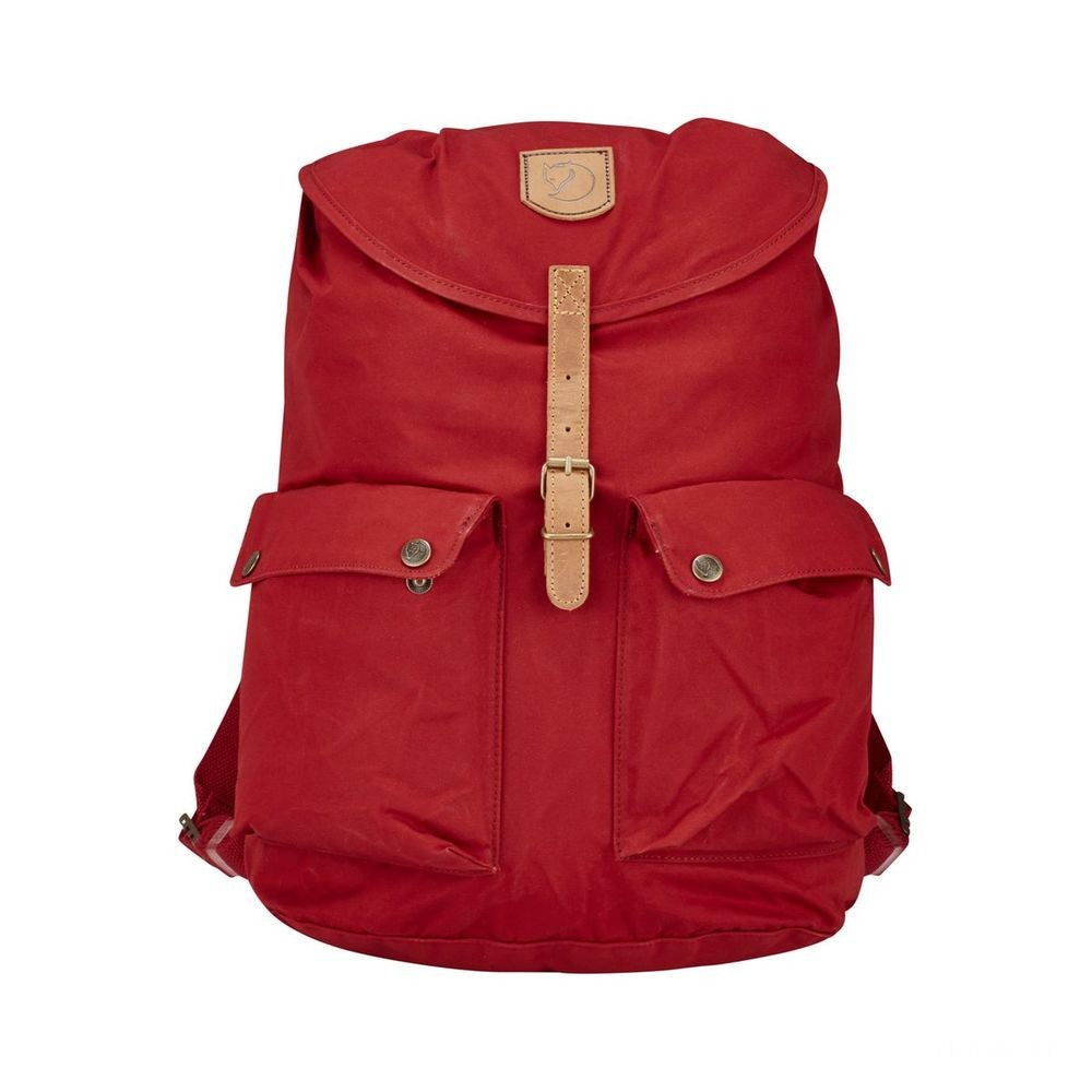 FJALLRAVEN Greenland - Sac à dos - Large rouge Rouge