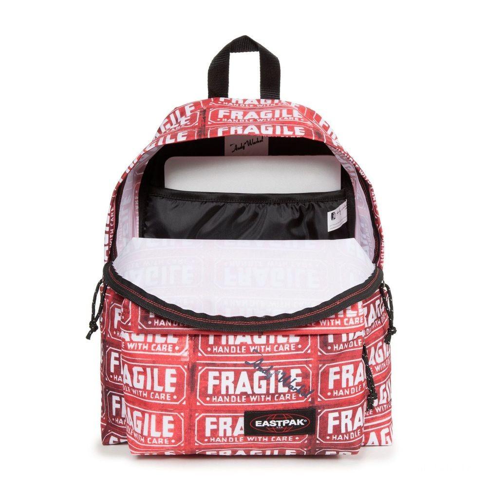 Eastpak Padded Pak'r® Andy Warhol Fragile - Soldes