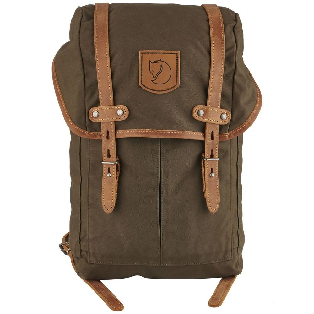 [BLACK FRIDAY] FJALLRAVEN No. 21 - Sac à dos - Small olive Olive