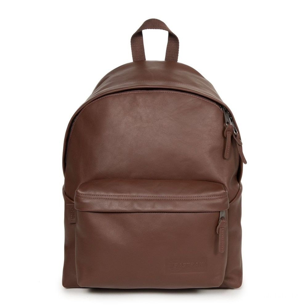 Eastpak Padded Pak'r® Chestnut Leather - Soldes