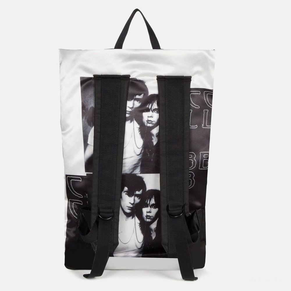 Eastpak Raf Simons Poster Backpack Satin Couple White - Soldes