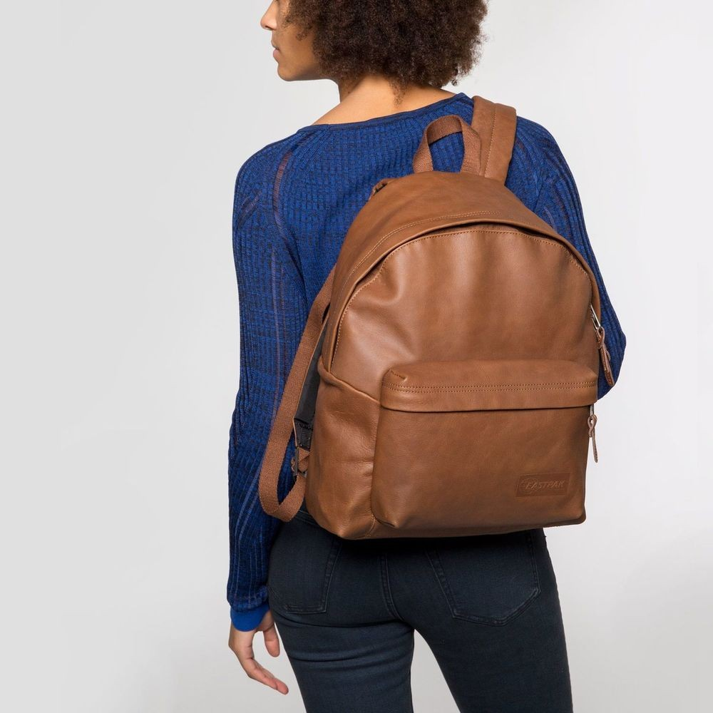 Eastpak Padded Pak'r® Brownie Leather