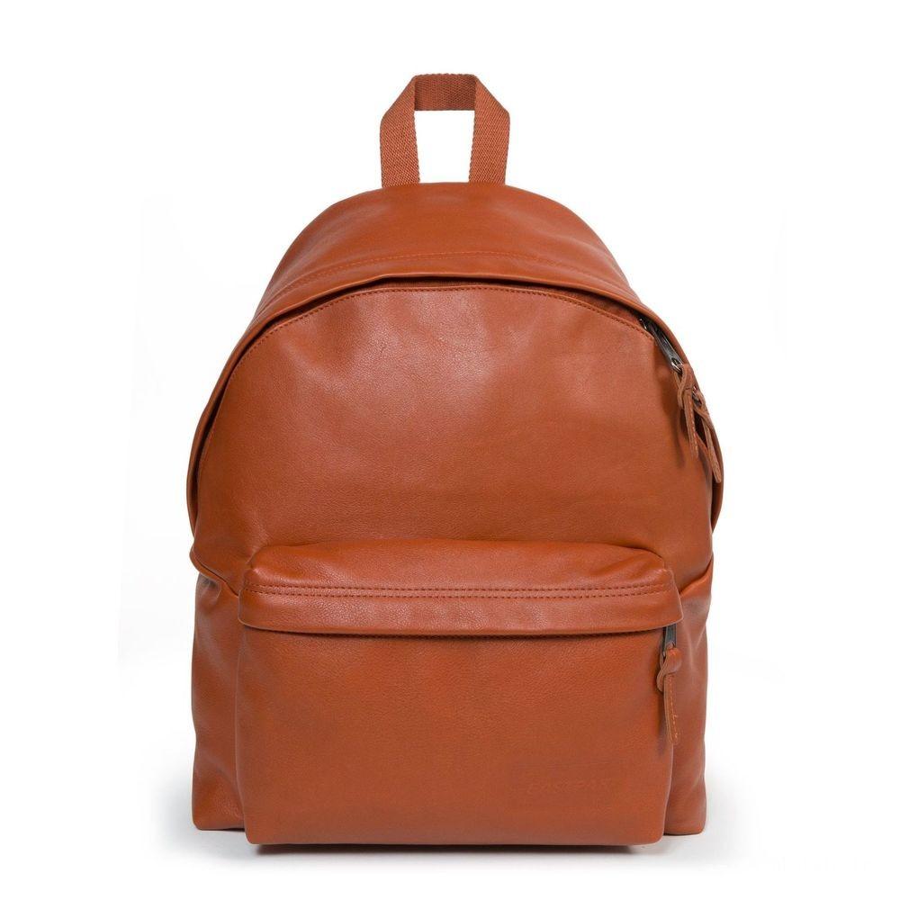 Eastpak Padded Pak'r® Cognac Leather - Soldes