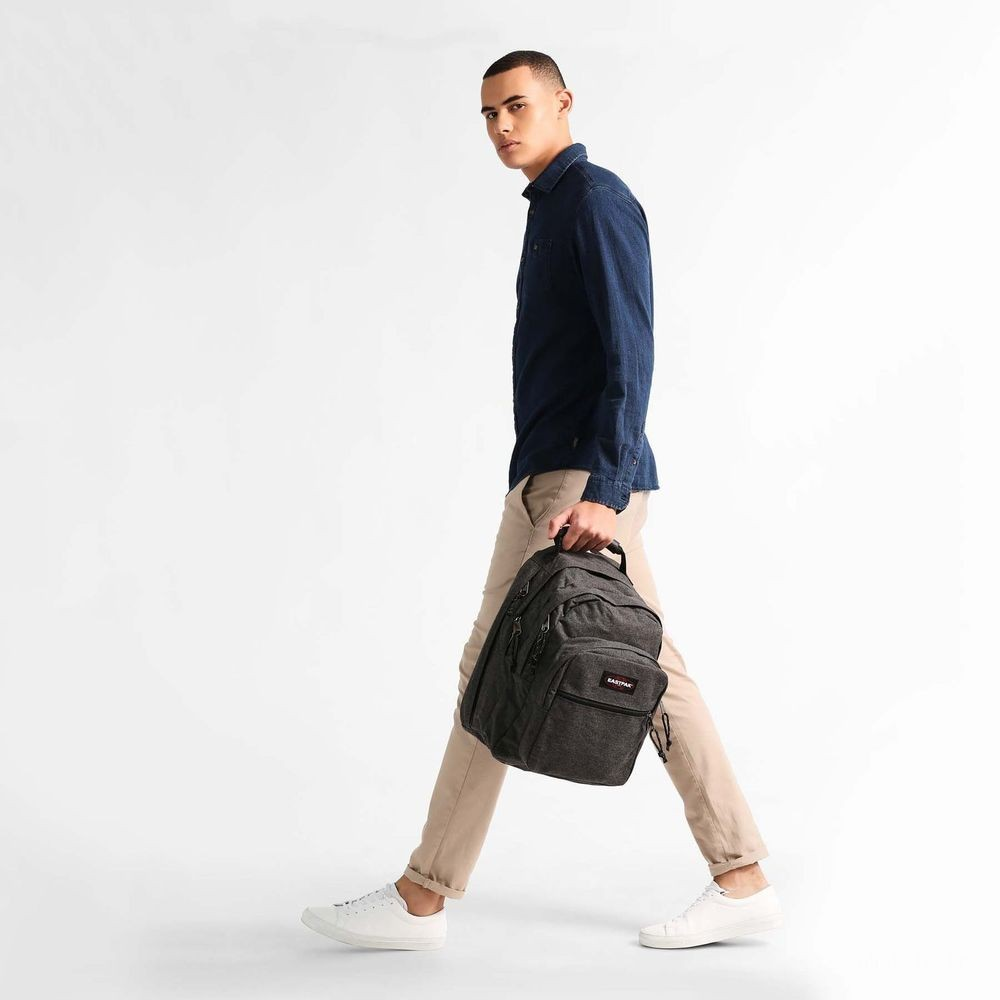 Eastpak Egghead Black Denim - Soldes